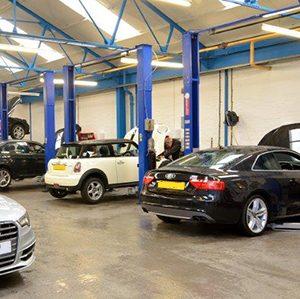 servicing & maintenance workshop