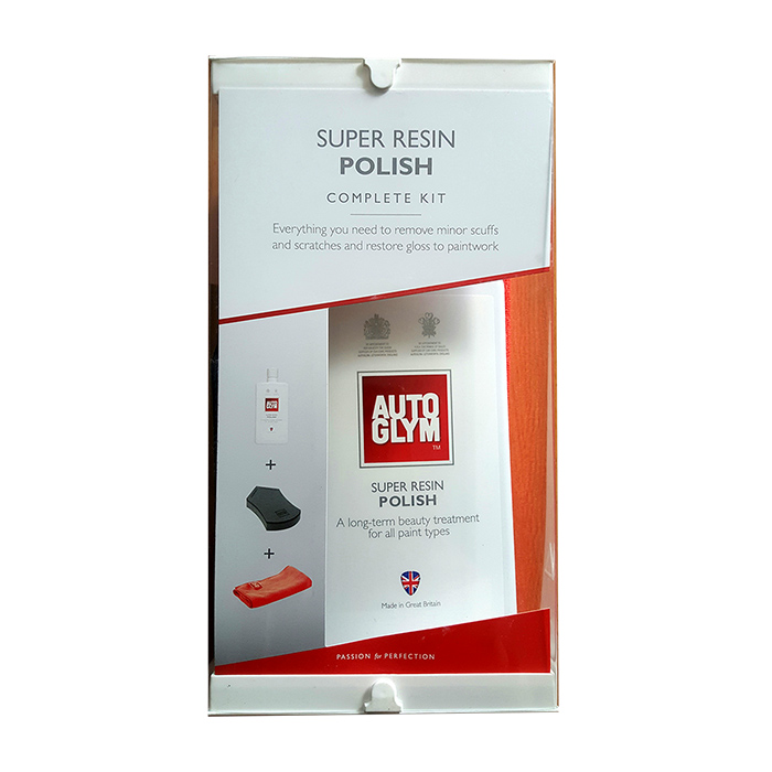 AUTOGLYM SUPER RESIN POLISH KIT