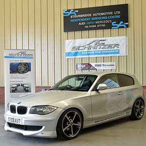 AC Schnitzer Vehicle Upgrade Example