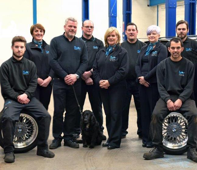 stourbridge automotive team photo