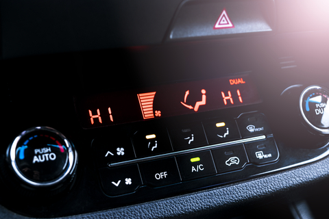 car air conditioning display screen